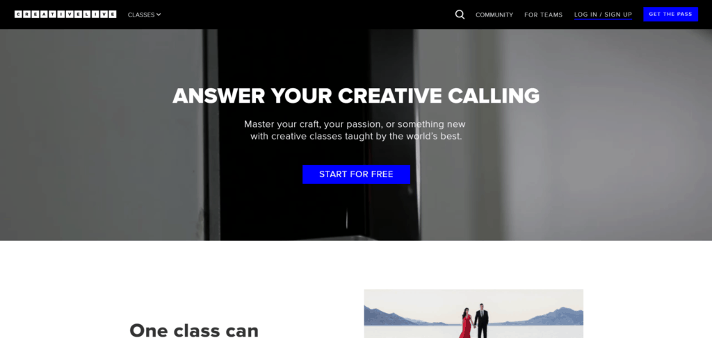 CreativeLive: an online education platform
