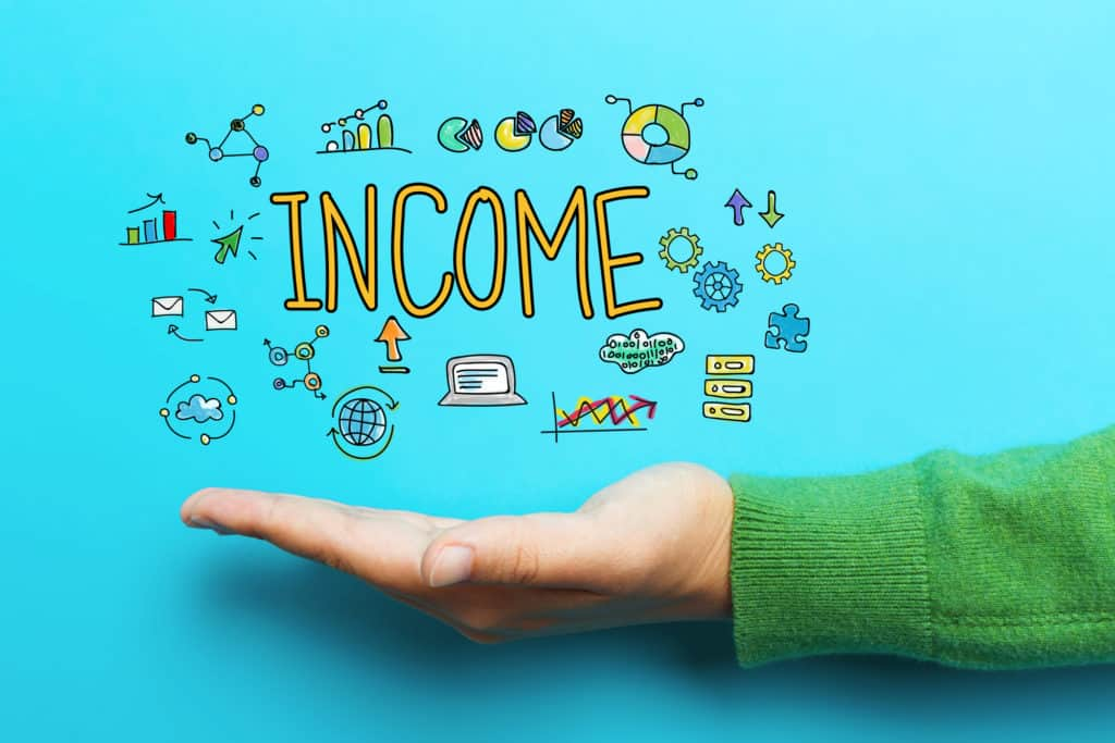 Identify your source of income
