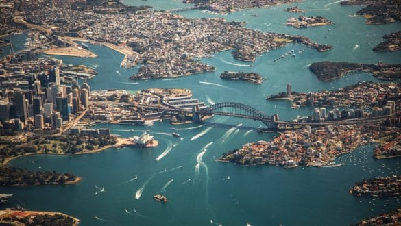 Bursting out the Sydney bubble