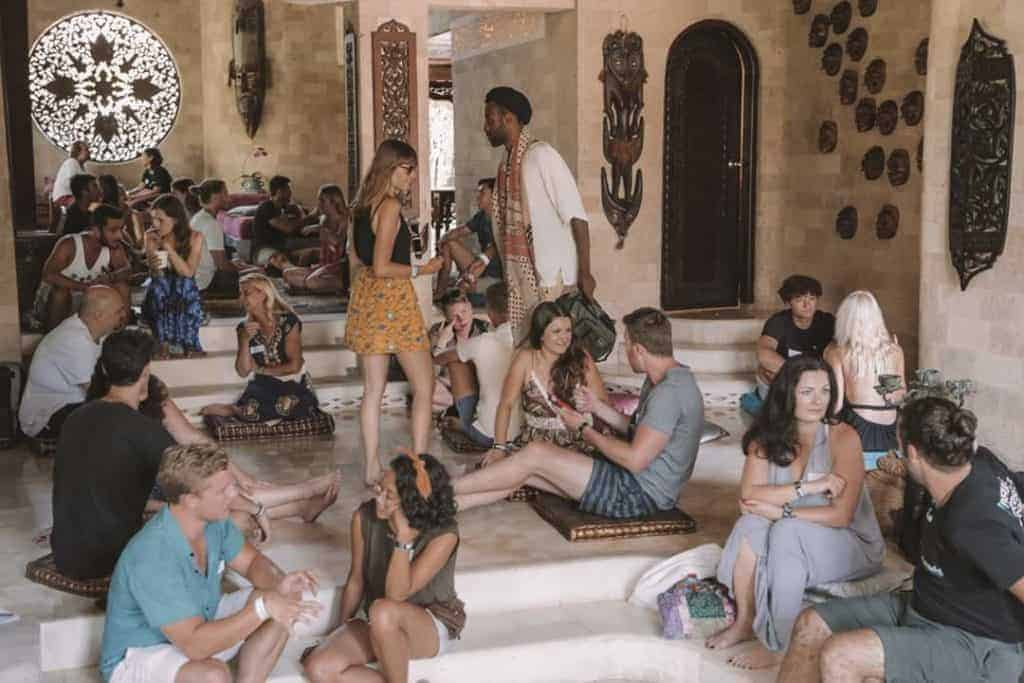 Nomad Soulmates speed dating event in Bali