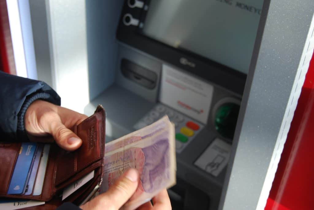 ATM in Lisbon
