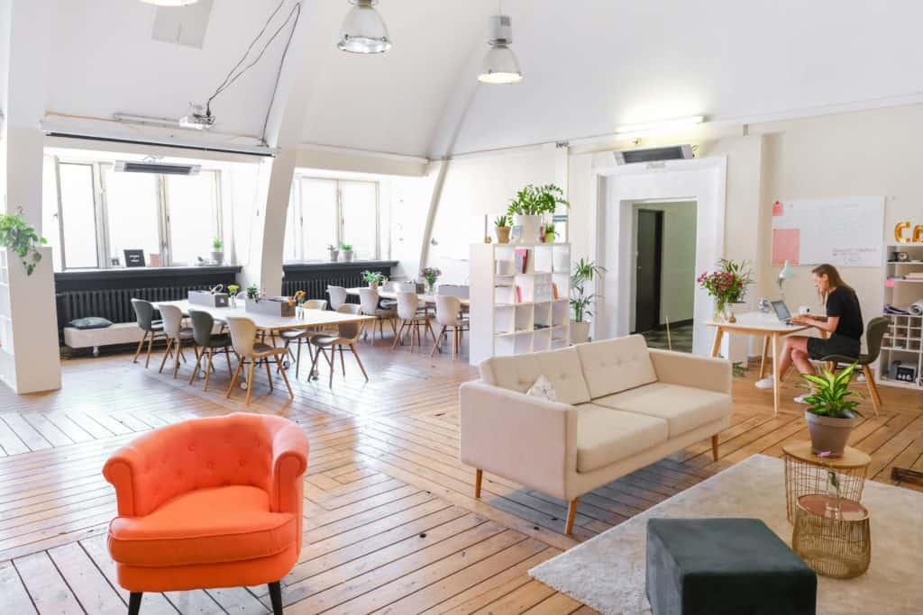 Coworking space in Lisbon