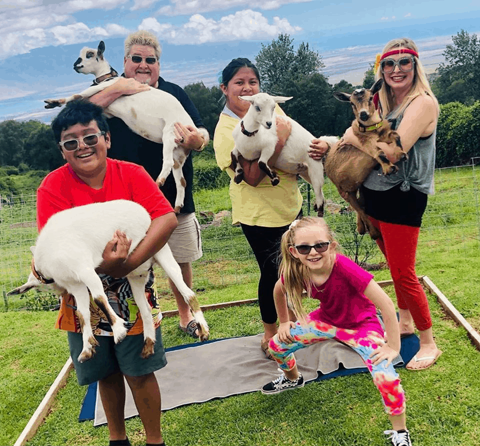 Maui Goat Yoga