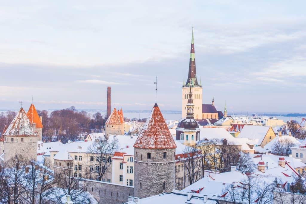 the weather in Estonia