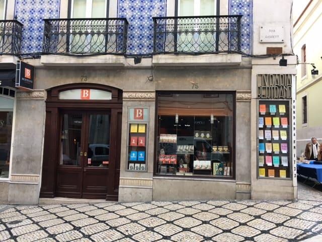 Bertrand library in Lisbon