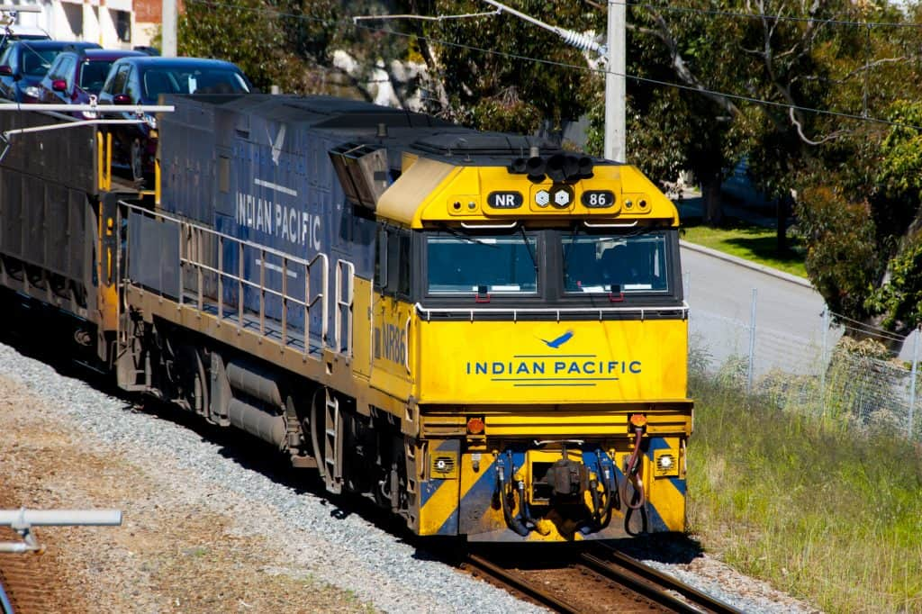 Indian Pacific Train