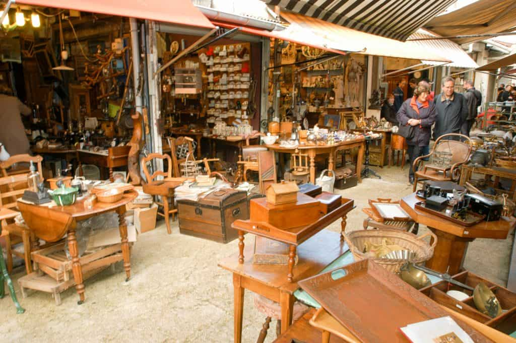 Marolles Flea Market
