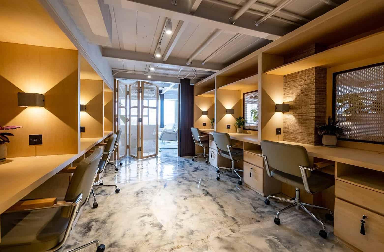 Luxury coworking space in Hong Kong — FLYDESK