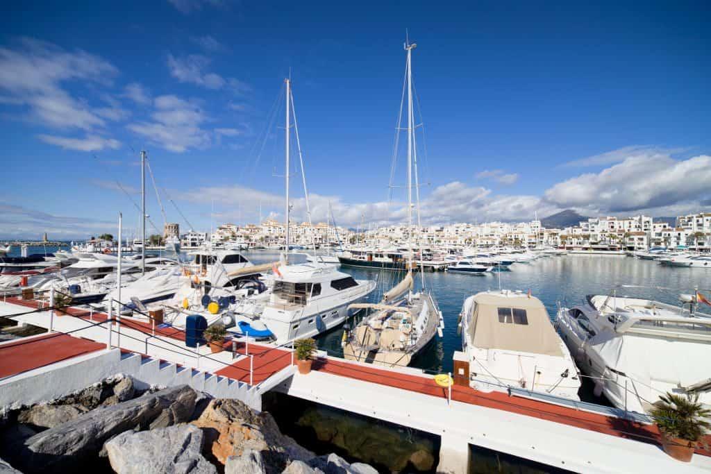 Puerto Banus Marina in Spain