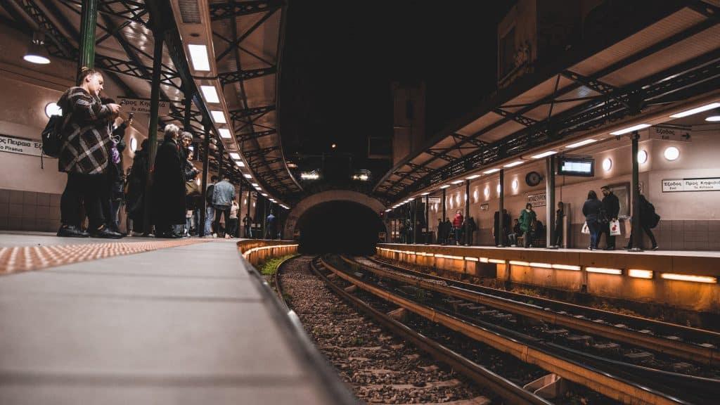 Metro in Athens
