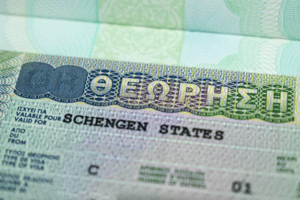 Visa for Greece