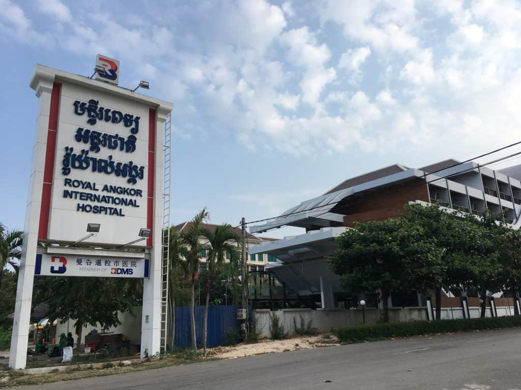 hospital in Siem Reap, Cambodia